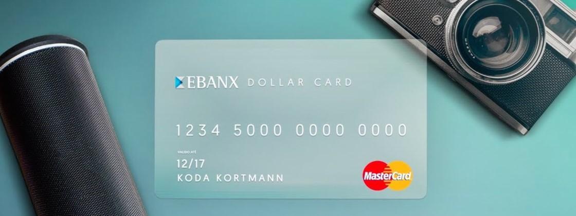 Cartão de Crédito Ebanx MasterCard | O Pré-pago Com Saldo Em Dólar!